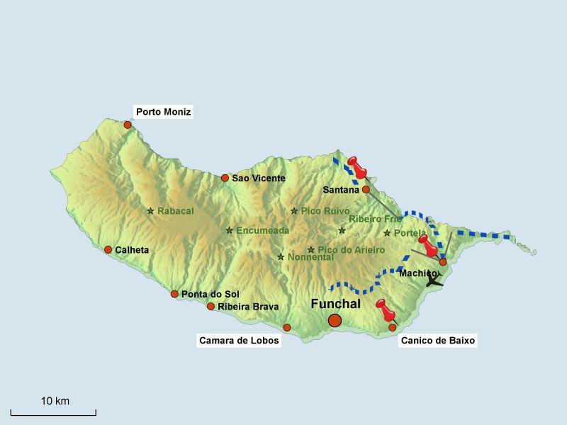 Madeira Kustenwandern Und Levadas Individuell Ab 2 Personen Mit