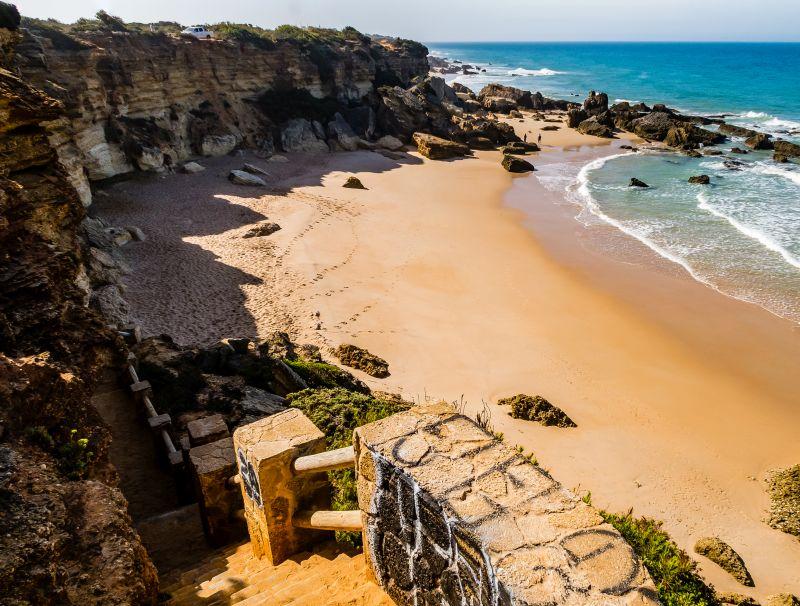 Andalusien Strände entlang der Costa del Sol und der Costa